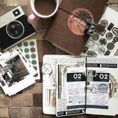 cahier de voyage, photos, chocolat, notes de voyage