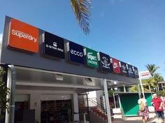 Carteleria de aluminio. Tenerife