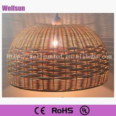 Wicker Rattan Pendant Lamp - Buy Wicker Pendant Lamp,Rattan Lighting,Hanging Rattan Lamps Product on Alibaba.com