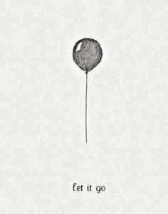Let it go #balloon