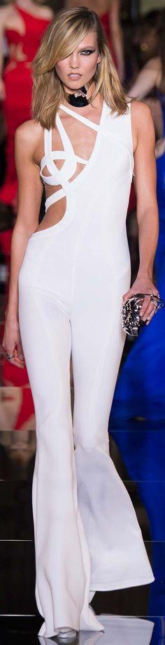 TD ❤️ Spring 2015 Couture Atelier Versace Model Karlie Kloss (IMG)