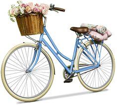 Pic of elegance Bicycle Basket, Bicycle Art, Bicycle Painting, Valentines Illustration, Illustration Art, Decoupage Vintage, Bike Design, Whimsical Art, Pics Art