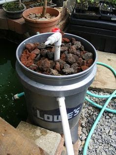1000 ideas about pond filters on pinterest ponds pond for Homemade pond filter
