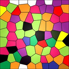 Stained Glass Abstract Background