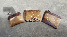A few zipper Pouches I made