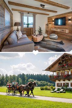 Der Hussnhof liegt im schönen Bayern und ist perfekt für den gemeinsamen Familienurlaub.