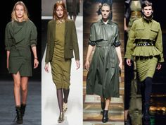 1000 images about kaki mood on pinterest army green green and olives - Couleurs tendance 2015 ...