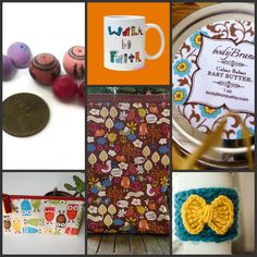 Satisfaction Through Christ: Assorted Handmade Items from Etsy Store Owners - Prize 1