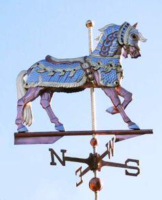 Carousel Horse weathervane