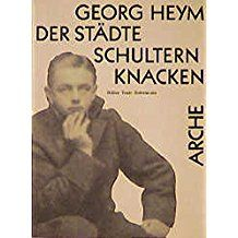 Bildergebnis für arche kalender georg heym Georg Heym, Ecards, Memes, E Cards, Meme