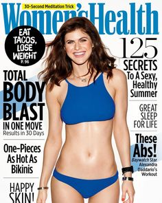 285.9K 個讚,1,280 則留言 - Instagram 上的 alexandra daddario(@alexandradaddario):「 Thank you @womenshealthmag for having me on your June cover! I spent 3 months in bathing suits so I… 」