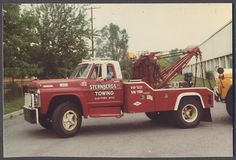 sternberg's towing | ... 1973 1975 Ford Tow Truck Sternbergs Towing Oak Park Michigan 840421