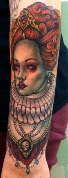 elizabeth bathory tattoo - Cerca con Google