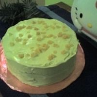 I cannot wait to try this yummy Green Tea cake!