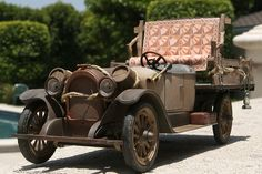 The Beverly Hillbillies Truck - 1921 Oldsmobile truck made from a touring car