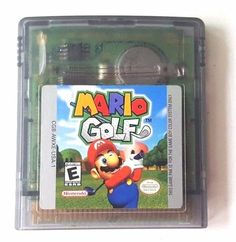 Gameboy Color Game Plays GBC GBA SP MARIO GOLF Luigi Princess Donkey Bowser +++