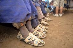 How a missionary trip led one man to create shoes that grow up to five sizes - The Washington Post