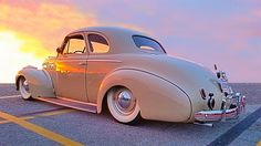 1940 Special Deluxe Chevrolet Coupe. So. Calif.