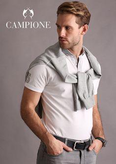 Top Design und gekonnte Schnitte zeichnen die CLAUDIO CAMPIONE Kollektion aus.