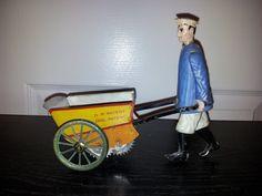 Lehmann Tap Tap  Wind up toy from 1903/ebay
