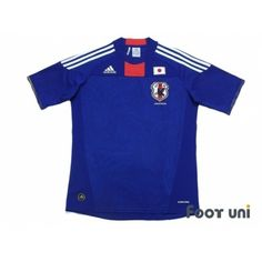 Photo1: Japan 2010 Home Shirt adidas 2010 South Africa FIFA World Cup Japan Home Shirt  - Football Shirts,Soccer Jerseys,Vintage Classic Retro - Online Store From Footuni Japan
