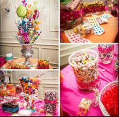 Beautiful candy bar