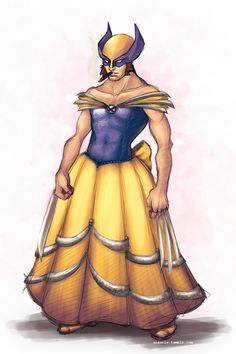 8 Examples Of Why Wolverine Is The Best Disney Princess