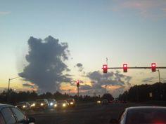 traffic clouds