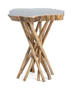 Organic+Teak+Wood+Stool Wood Stool, Teak Wood, Accent Furniture, Home Accents, Organic, Table, Living Room, Home Decor, Sitting Rooms