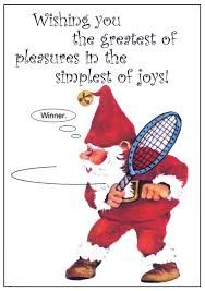 Image result for tennis at christmas