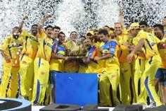 Chennai Super Kings: Chennai Super Kings - Photo Gallery
