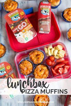School Lunchbox Ideas: Pizza Muffins