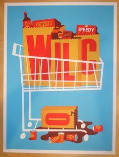 2015 Wilco - Bend Silkscreen Concert Poster by Dan Stiles
