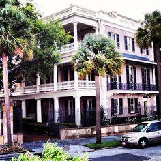 The Battery. Charleston, S.C.