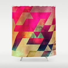 syx nyx Shower Curtain by Spires - $68.00