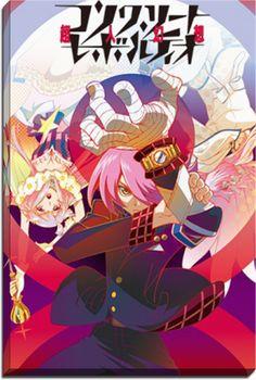 Concrete Revolutio Choujin Gensou The Last Song Anime Canvas