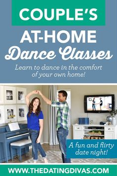 At-Home Couple's Dance Classes Online Dance Lessons, Private Dance Lessons, Online Dance Classes, Fun Moves, Dance Moves, Contemporary Dance, Modern Dance, Romantic Dance, Romantic Gifts