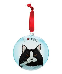 Look what I found on #zulily! Clark the Tuxedo Ball Ornament #zulilyfinds