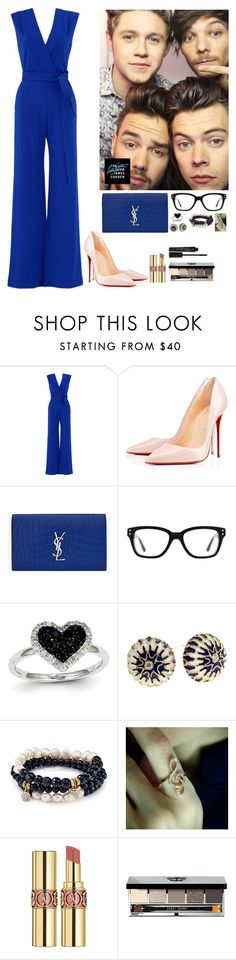 """""""One Direction #10"""" by ambere3love34 ❤ liked on Polyvore featuring YOANA BARASCHI, Christian Louboutin, Yves Saint Laurent, Converse, Kevin Jewelers, Sequin, Plukka, Bobbi Brown Cosmetics and Smashbox"""