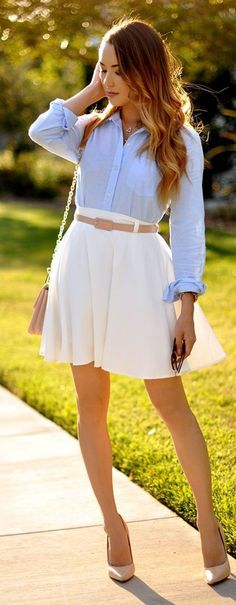75 cute preppy outfits and fashion ideas 2016 cute preppy outfits, cute office outfits, Cute Office Outfits, Adrette Outfits, Preppy Summer Outfits, Preppy Casual, Preppy Style, Casual Outfits, Casual Clothes, Womens Preppy Outfits, Preppy Ideas