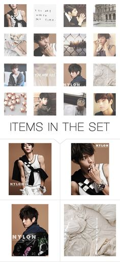 """""""◍ OUR OWN UNIVERSE ◍"""" by taerrible ❤ liked on Polyvore featuring art, Fall, kpop, infinite, moodboard and myungsoo"""