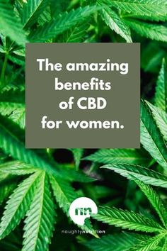 If you're a woman, and you've considered supplementing with CBD, this is a great read. CBD can help with so much more than stress and anxiety. #cbd #cbdsupplement #womenshealth #naughtynutrition