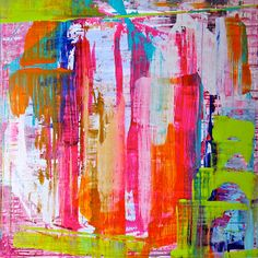 lindsay cowles art: available artwork--could probably do something similar with paint scrapper