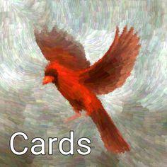 Red Cardinal Brush