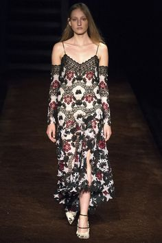 Erdem - Combining elements of boudoir dressing with a fun floral print, this dress would look ideal on an English rose like Carey Mulligan.