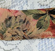 "Beautiful Tapestry Wide Ribbon 2 1/2"" Wide Ribbon, Stunning Design, Sold by the Yard  $3.47 SALE    #ThoseBroadsFromEtsy Etsy USA"