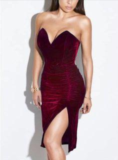 Vestido de Veludo Tomara que Caia - Compre Online | DMS Boutique