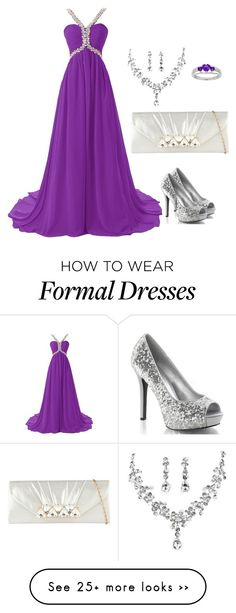 """Formal outfit"" by gooey-5757 on Polyvore featuring Call it SPRING and purple"