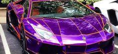 Purple on Wheels