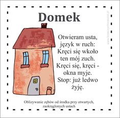 Polish Language, Kids Reading, Kids Education, Speech Therapy, Kids And Parenting, Logos, Montessori, Activities For Kids, Kindergarten